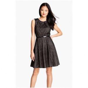 Vince Camuto Black Eyelet Dress, Size 10